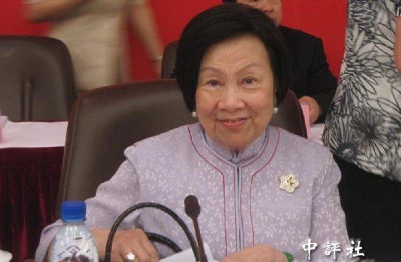 辜嚴倬雲是蔣宋美齡後第二位婦聯會的主持人。(中評社)