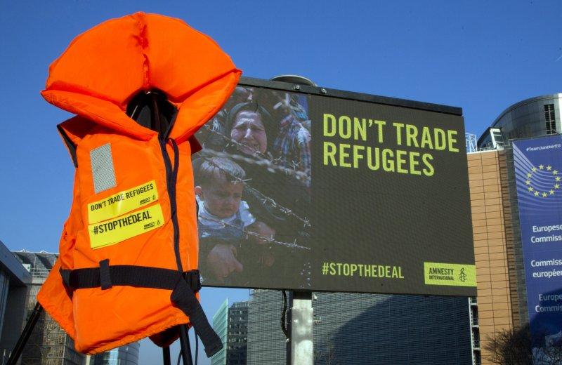 國際特赦組織(AI)呼籲:別交易難民!(美聯社)