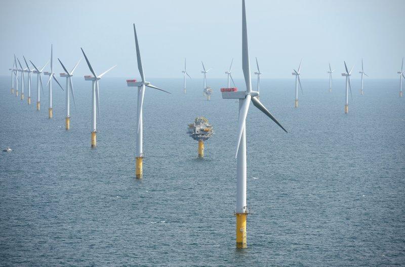 離岸風力發電。風電,風機,再生能源。(NHD-INFO@flickr/CC BY 2.0)