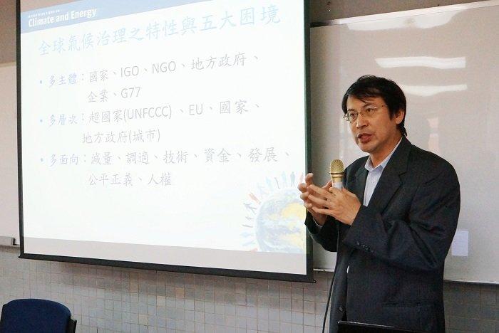 台大政治系副教授林子倫。(取自政治大學傳播學院網站)