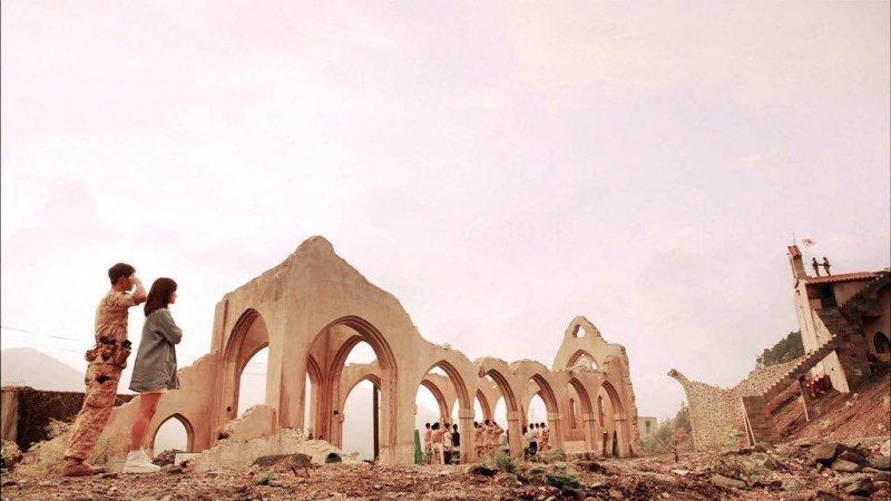 「烏魯克」地區事際上就是一座位於美索不達米亞平原西南部的蘇美爾人古城。圖/Descendants of the Sun 태양의 후예@FACEBOOK