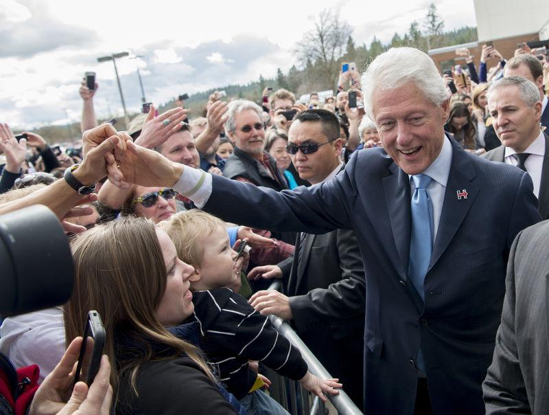 美國前總統柯林頓(Bill Clinton)(美聯社)
