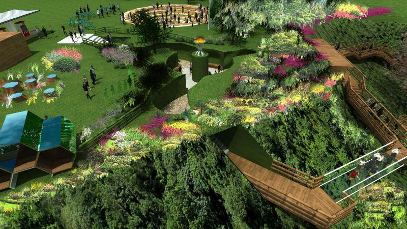 劉傳通常會按照建地的原始方式而建築,享受設計的同時也能欣賞自然原有的風貌。(圖/水風提供)