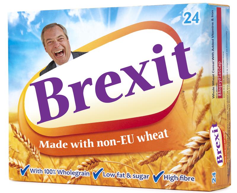 英國脫離歐盟的文宣。(www.reddit.com)