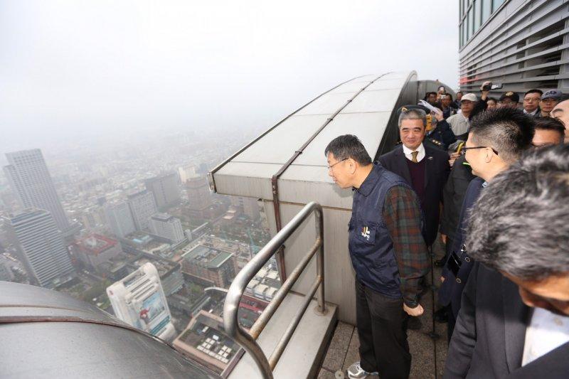 20160325 柯文哲出席北北基桃聯合災害防救演習(台北市政府提供)
