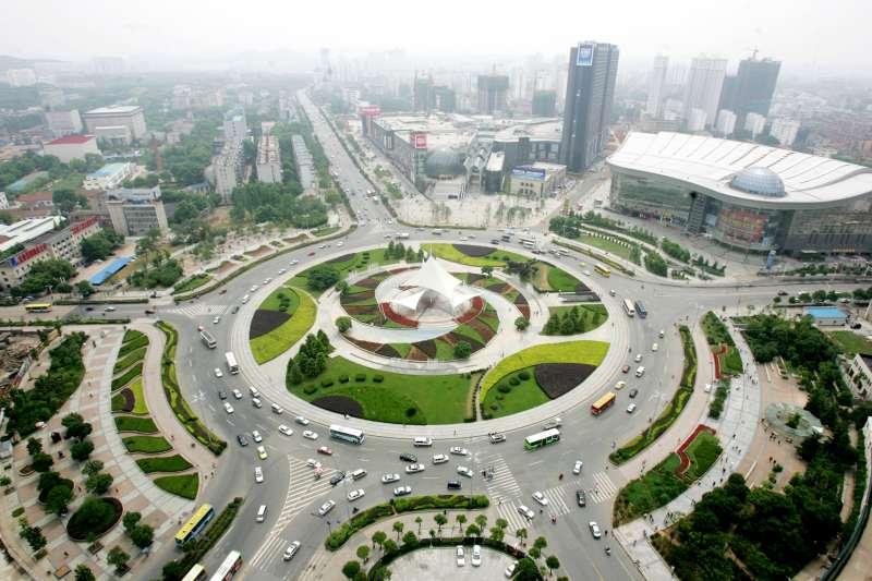 武漢東湖高新區的光谷園區。