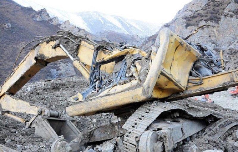 2013年3月29日,拉薩墨竹工卡縣甲瑪礦區發生礦難,官方解釋「因自然災害造成山體自然塌方」。(來源:唯色「看不見的西藏」網頁)