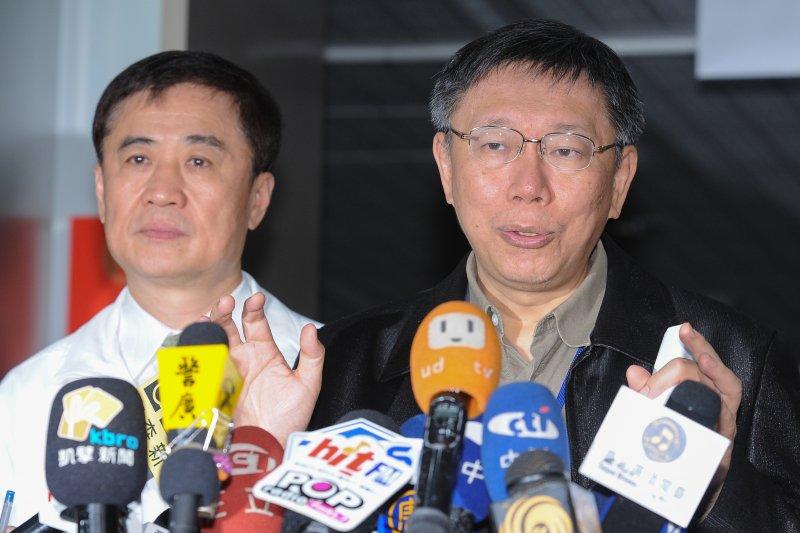 台北市長柯文哲29日於台北市長府回應內湖女童遇害事件時表示,嫌犯曾試圖突破校園安全防護網,但最終仍在校園外殺害兒童,未來將研擬建置社會安全防護網。(林俊耀攝)