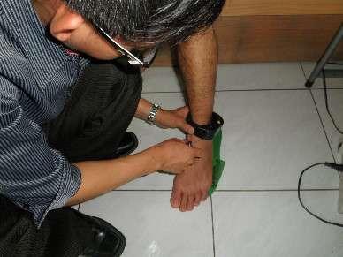 監控性侵假釋犯,佩帶電子腳鐐。(取自花蓮地院檢察署網站)