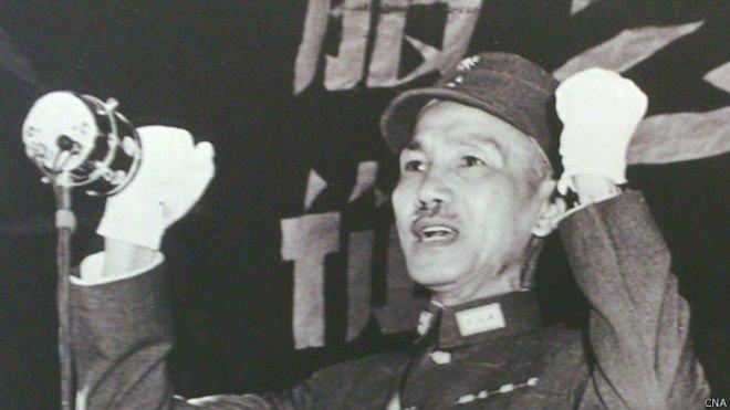 蔣介石在許多人的心目中,他是中國的正統,但是許多人也認為他是威權的象徵。(BBC中文網)