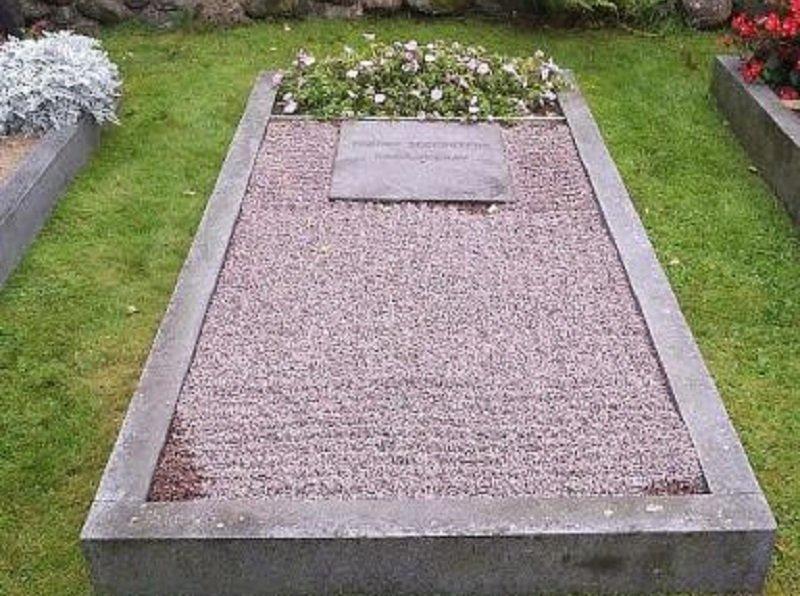 托格尼的墓園。(作者提供)