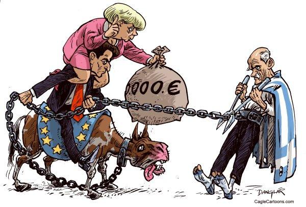 希臘經濟與歐盟。(liberalbeef.com)