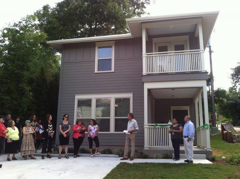 瓜達魯佩鄰里開發公司提供的家屋之一(GNDC Facebook)