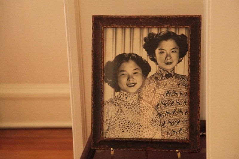 McCormick故居珍藏的吳國楨女兒的照片。(搜狐網)