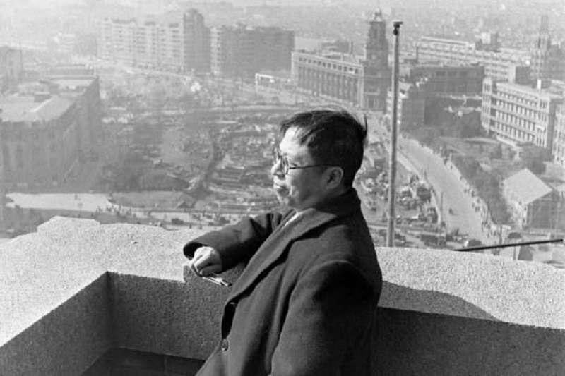 吳國楨在上海。(照片中國)
