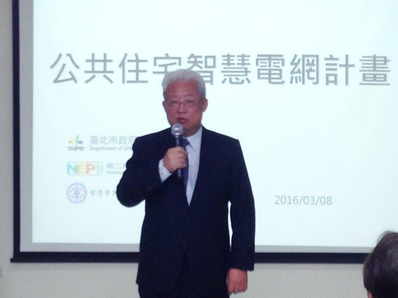 台電總經理朱文成日前宣布推出多元時間方案。(台電提供)