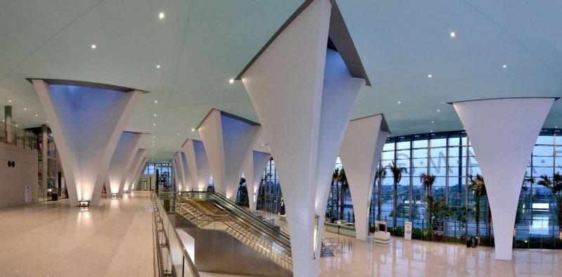 台灣高鐵彰化站一舉奪下堪稱「建築界奧斯卡」的國際建築大獎「A+建築獎」。(取自姚仁喜 大元建築工場)