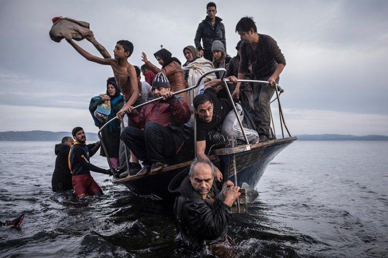《紐約時報》獲突發新聞攝影獎(美聯社)