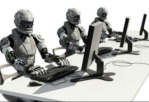 機器人、或者說人工智慧,真的有辦法勝任新聞報導的工作嗎?(翻攝推特)