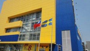IKEA外的兩國國旗