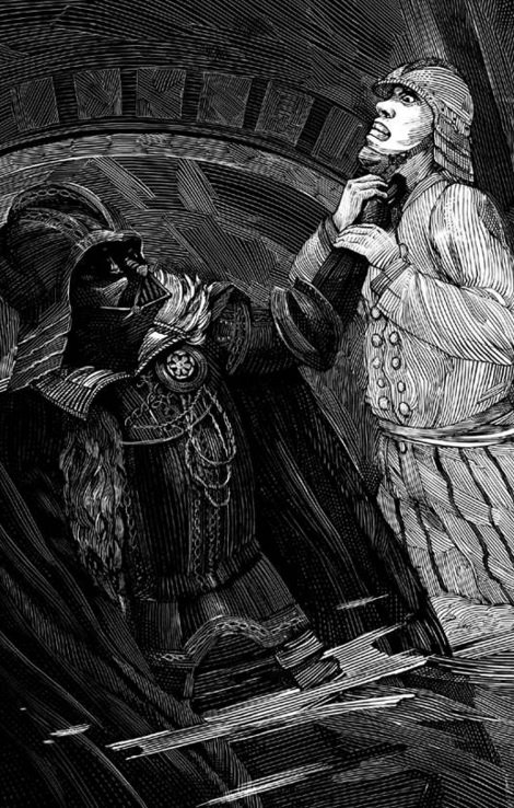 《莎士比亞的星際大戰》內頁(Quirk Books)