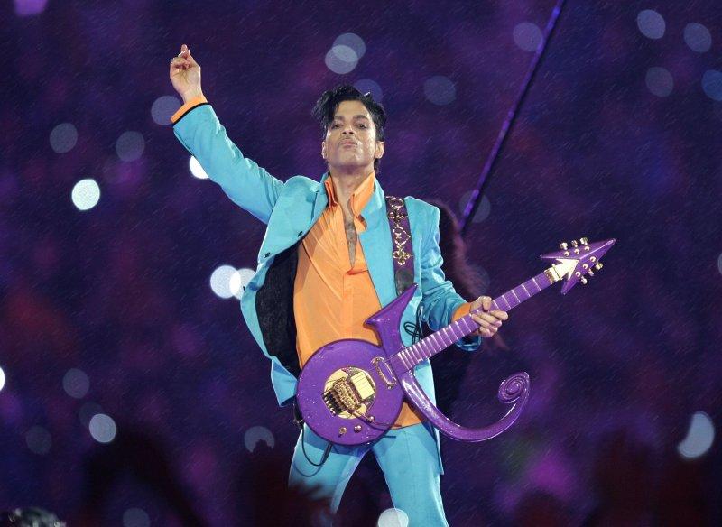 美國流行樂壇傳奇歌手王子。(美聯社)