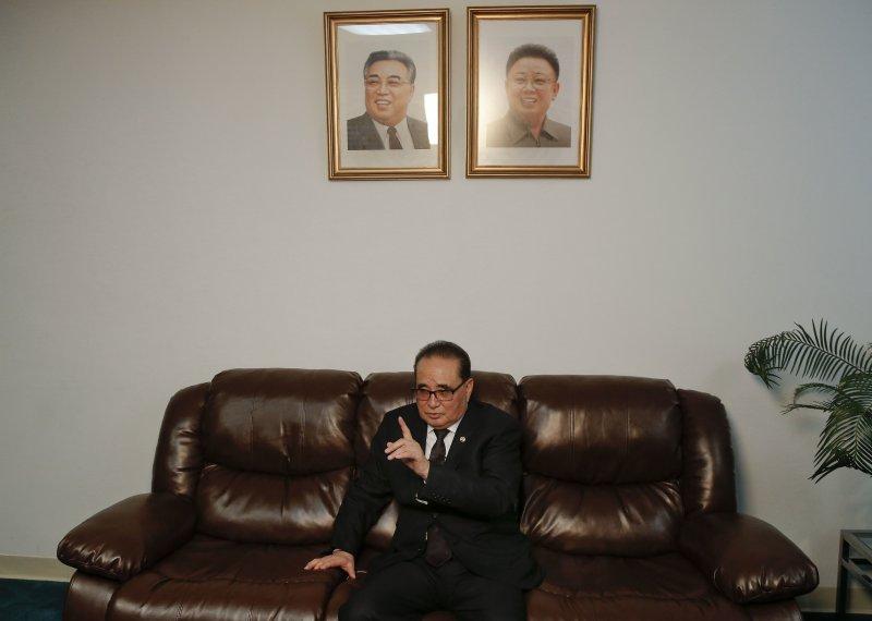李洙墉在專訪中對於美國語多不滿。(美聯社)