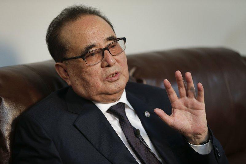 李洙墉:不要再妄想金氏北韓政權垮台。(美聯社)