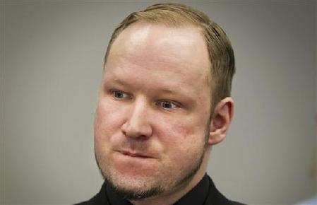 挪威殺人狂布雷維克。(取自網路)