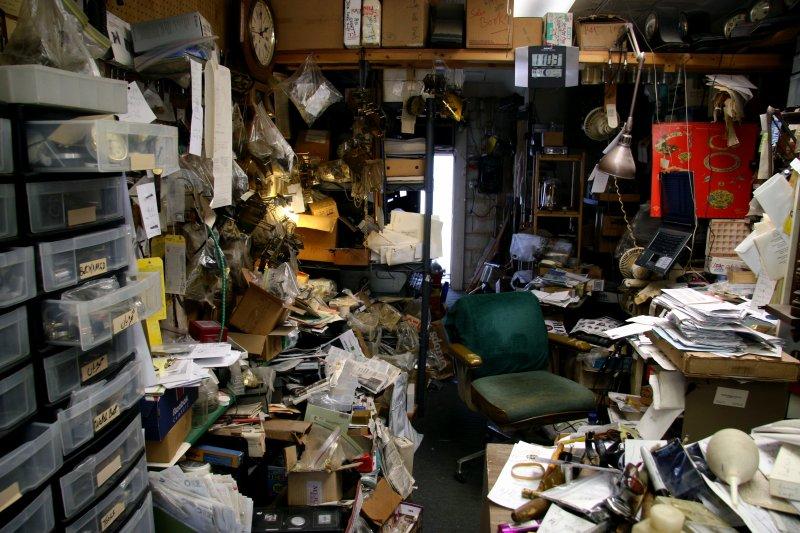 研究顯示,雜亂的環境能激發創意。(圖/jason saul@flickr)
