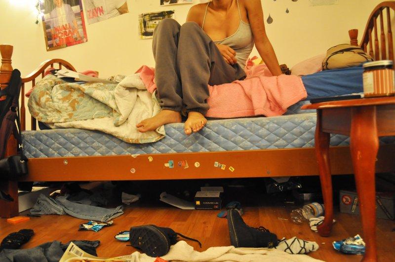 髒亂房間的深處,可能正是心靈的美妙所在。(圖/Monique Prater@flickr)
