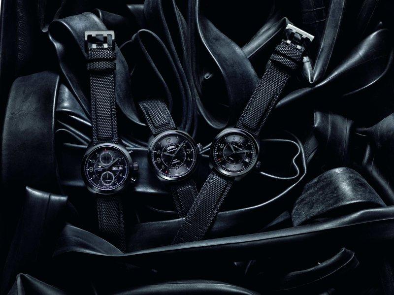 全新面世的Hamilton Khaki Field卡其野戰系列,令軍錶應具備的「低調黑」發揮到淋漓盡致。(圖/Hamilton提供)