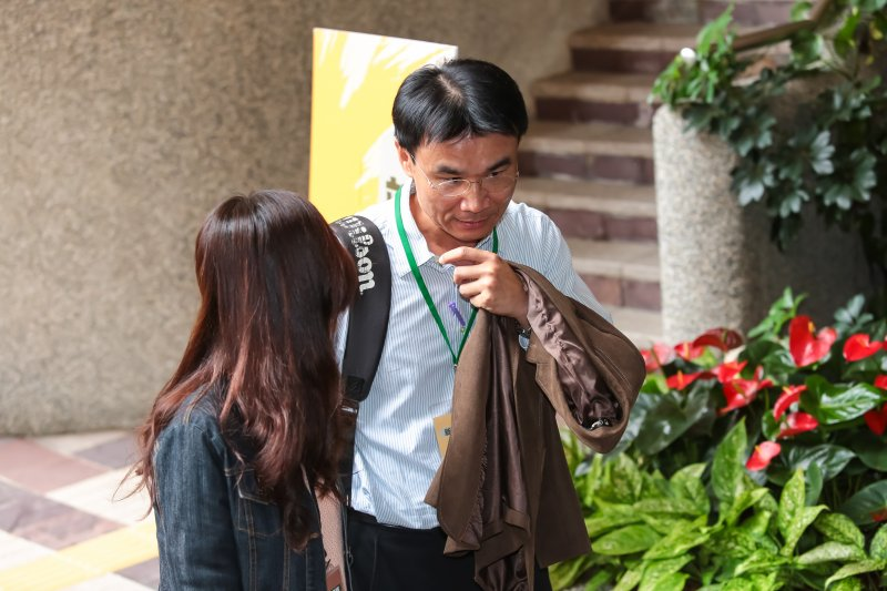 準農委會副主委陳吉仲30日出席「新內閣團隊」共識營。(顏麟宇攝)