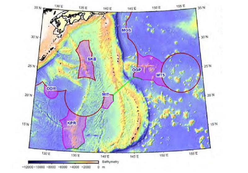 附圖:取自CLCS 2012年4月19日就日本提案之最終報告。(作者提供)