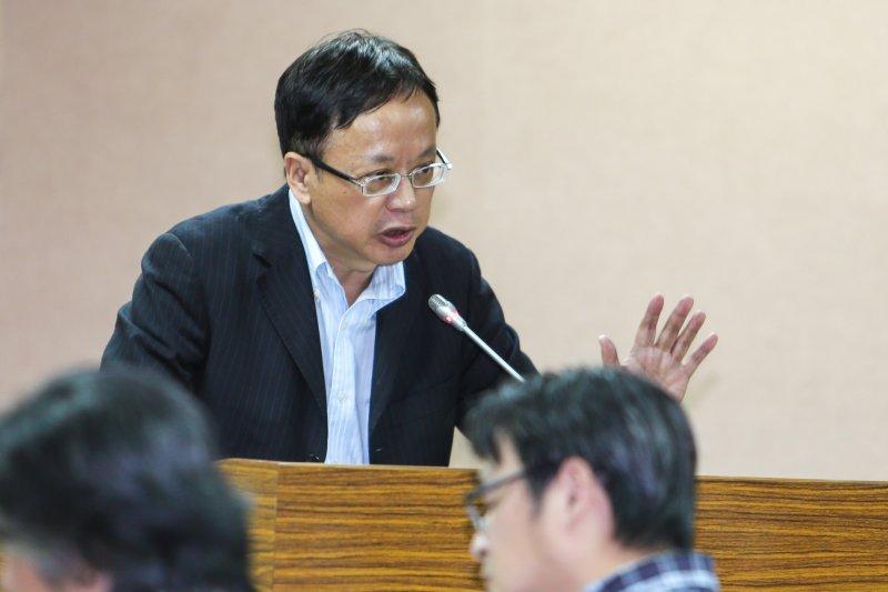 20160502-立法院.國家政策研究基金會顧問李訓民(陳明仁攝)