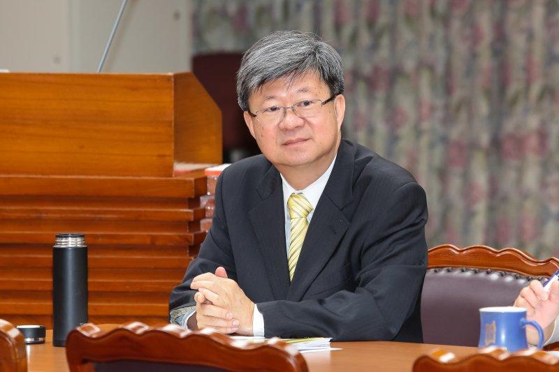 教育部長吳思華5日出席教育委員會備詢。(顏麟宇攝)