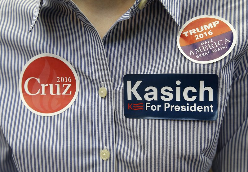 在凱西克與克魯茲相繼退選之後,川普已成共和黨唯一的總統候選人。(美聯社)