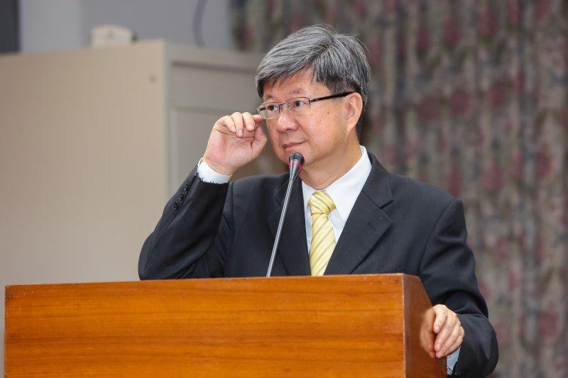 教育部長吳思華5日至教育委員會備詢。(顏麟宇攝)