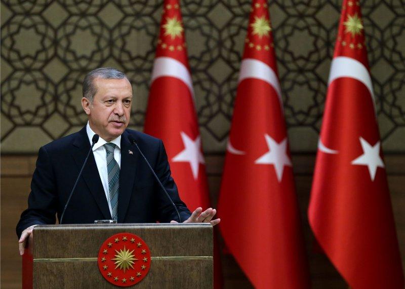 土耳其強人總統埃爾多安。(美聯社)