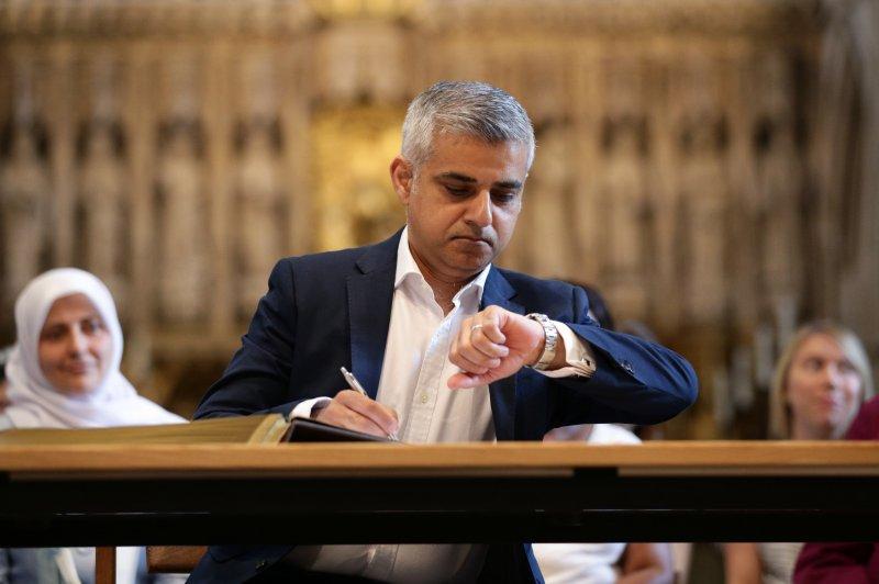 倫敦市長勝選人漢恩。(美聯社)
