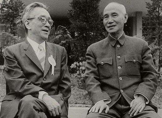 蔣介石、胡適