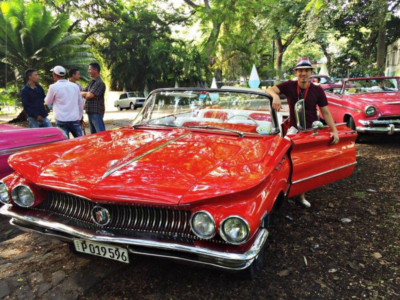 搭古董車遊古巴 苗啟誠規劃行程想辦法跟別人不一樣