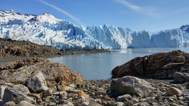 苗啟誠規劃單國深度遊 在台炒紅中南美洲旅遊 阿根廷冰川