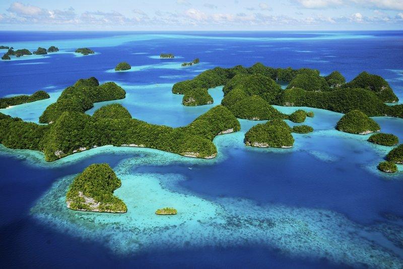 帛琉海景無限好,開啟Yorko的潛水之路,是他的第二故鄉。(圖/Yorko Summer提供)