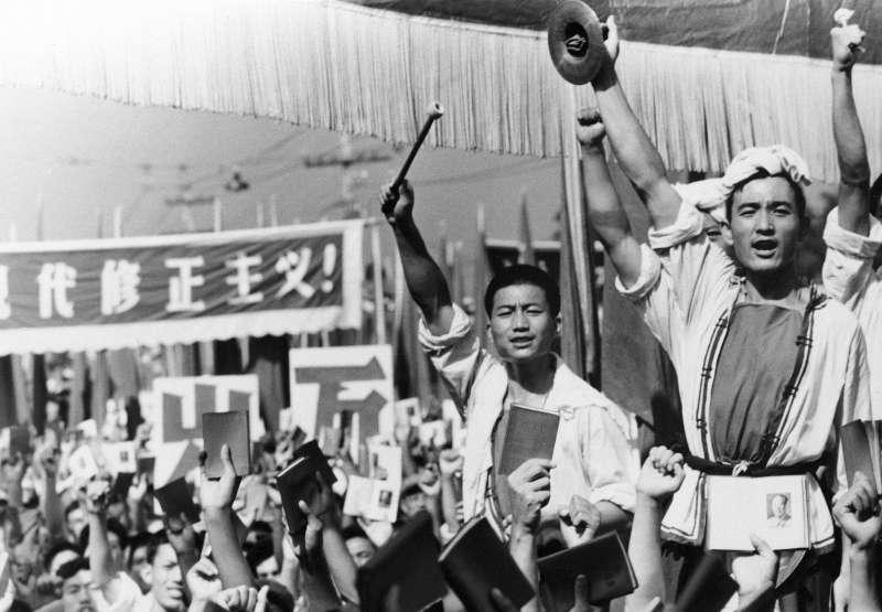 文化大革命(文革)的紅衛兵(美聯社)