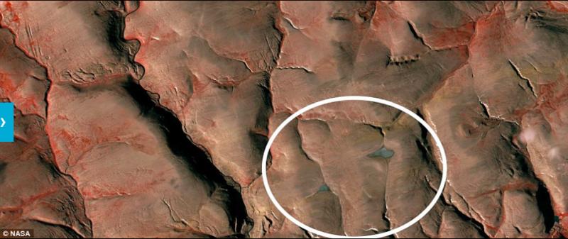不到十年的時間,已不見蹤影。(圖/NASA)
