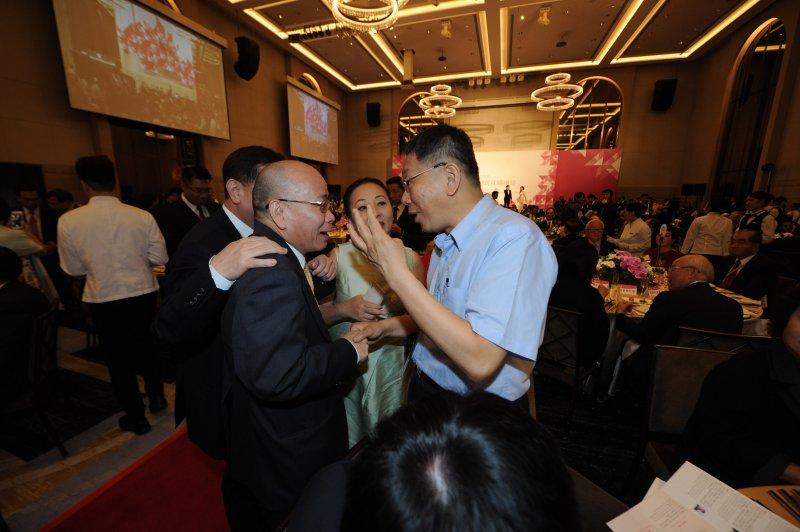 蔡英文、520就職國宴、張景森、柯文哲。(台北市攝影記者聯誼會提供)