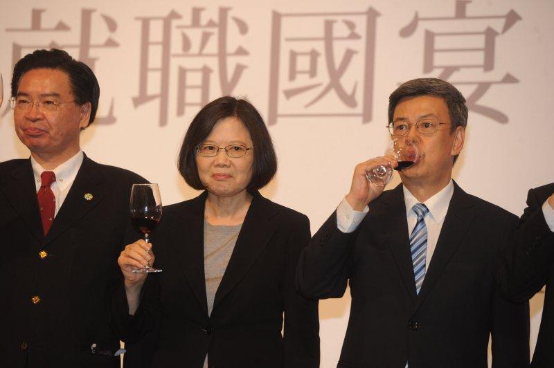 520就職國宴敬酒。(台北市攝影記者聯誼會提供)