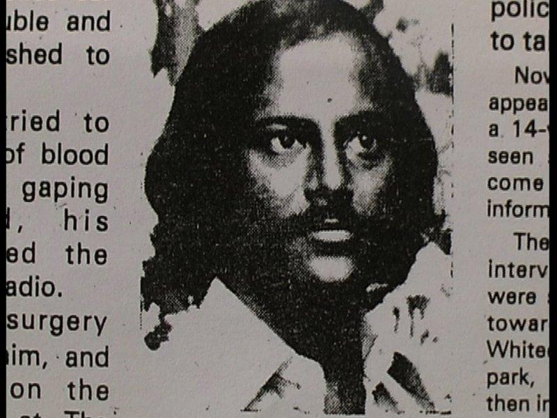 一九七八年種族主義謀殺的受害者艾塔布阿理 。(vimeo.com)