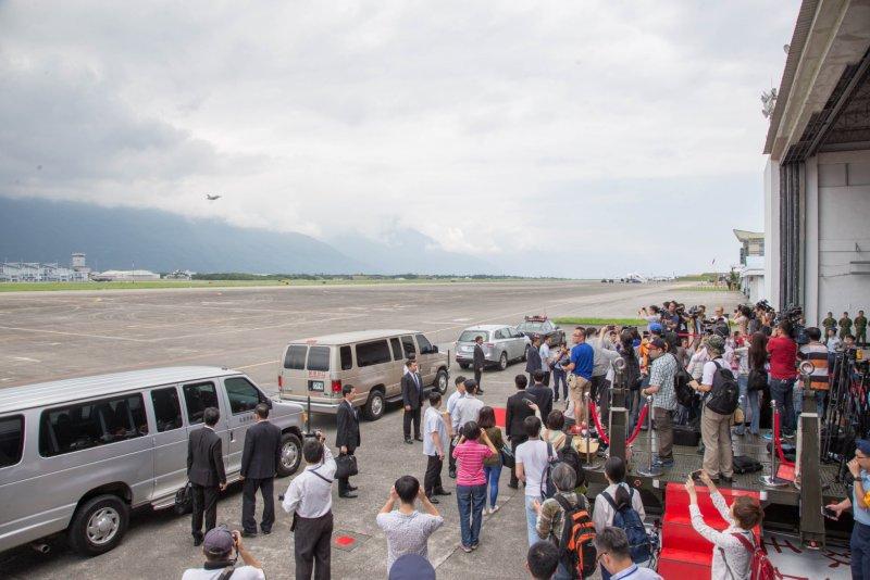 蔡英文總統視導空軍花蓮、佳山基地(軍聞社提供)